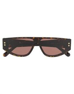Солнцезащитные очки в оправе черепаховой расцветки Stella mccartney eyewear