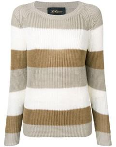 трикотажный свитер в полоску Les copains
