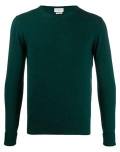 пуловер с круглым вырезом в рубчик Ballantyne