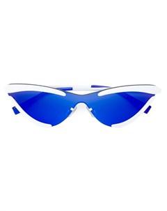 Солнцезащитные очки x Adam Selman The Scandal с зеркальными линзами Le specs