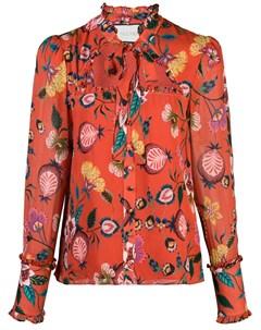 Блузка с цветочным принтом Alexis