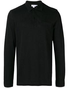 Рубашка поло с длинными рукавами Sunspel