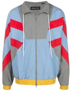 Спортивная куртка в стиле колор блок God's masterful children