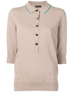 Рубашка поло с рукавами три четверти Eudon choi