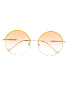 солнцезащитные очки в круглой оправе Loewe