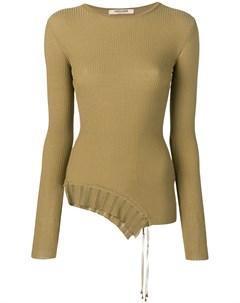 пуловер асимметричного кроя Roberto cavalli