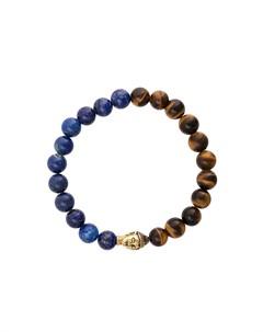 эластичный браслет с камнями Nialaya jewelry