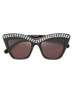 Солнцезащитные очки Falabella в массивной оправе Stella mccartney eyewear
