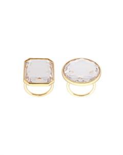 кольцо с кристаллом Vera wang