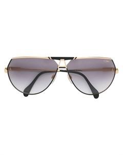 Затемненные солнцезащитные очки авиаторы Cazal