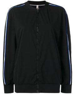 Спортивная куртка с полосками по бокам No ka' oi