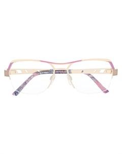 Солнцезащитные очки в оправе геометричной формы Cazal