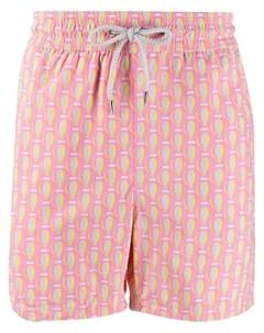 Плавки шорты с графичным принтом Love brand