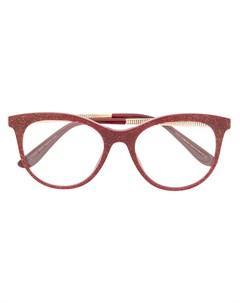 Солнцезащитные очки в оправе кошачий глаз с блестками Dolce & gabbana eyewear