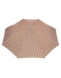 складной зонт с монограммой Burberry