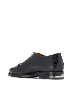 Декорированные туфли с брогированием Toga virilis