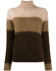 свитер в полоску с высоким воротником Golden goose