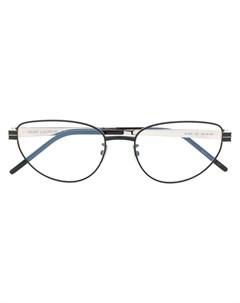Солнцезащитные очки SLM52 в овальной оправе Saint laurent eyewear
