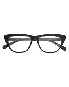 Очки в квадратной оправе Stella mccartney eyewear