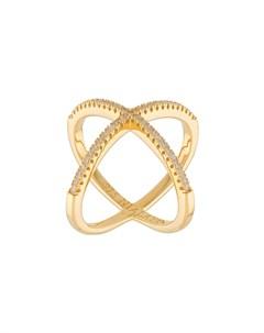 кольцо с перекрещивающимися ободами Nialaya jewelry