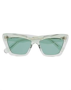 Солнцезащитные очки в оправе кошачий глаз Salvatore ferragamo eyewear