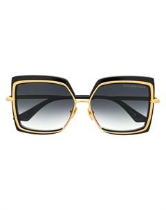 Солнцезащитные очки в крупной квадратной оправе Dita eyewear
