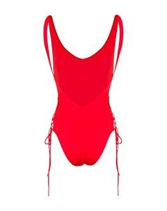 Слитный купальник со шнуровкой Sian swimwear