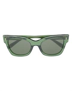 Солнцезащитные очки Kate в квадратной оправе Mulberry