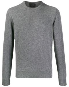 пуловер с круглым вырезом Dell'oglio