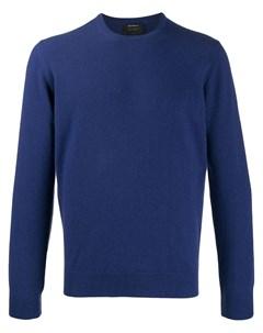 Кашемировый свитер с круглым вырезом Dell'oglio