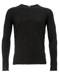 Классический приталенный свитер Label under construction