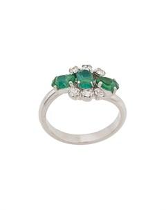 кольцо 1981 го года с кристаллами Christian dior x susan caplan