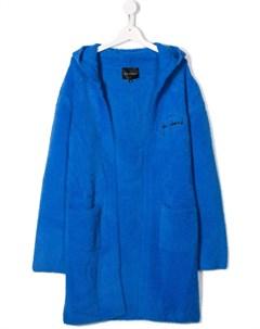 кардиган пальто с вышитым логотипом John richmond junior