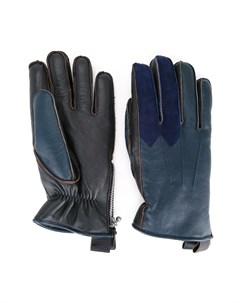 Двухцветные перчатки Addict clothes japan