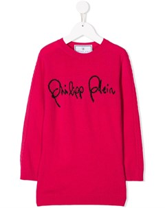 Пуловер Signature Philipp plein junior