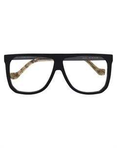 очки в массивной оправе Loewe