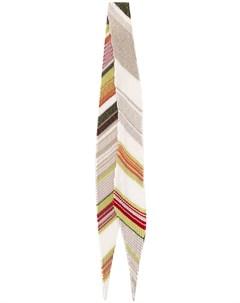 Плиссированный шарф с эффектом металлик Missoni