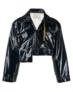 Укороченная куртка на молнии A-cold-wall*