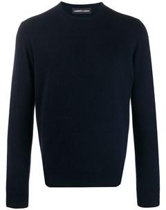 кашемировый пуловер с круглым вырезом Lamberto losani