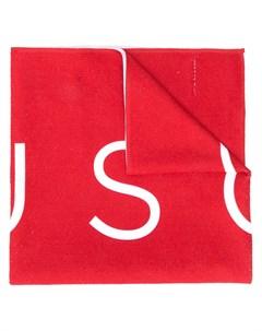Шарф с логотипом Buscemi
