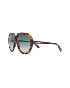Солнцезащитные очки в оправе бабочка Tom ford eyewear