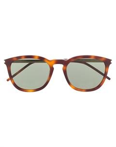 Солнцезащитные очки SL360 в круглой оправе Saint laurent eyewear