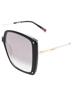 Массивные солнцезащитные очки Missoni