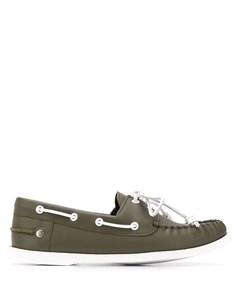 Туфли с контрастной шнуровкой Loewe