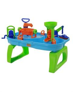 игровой набор для песочницы и ванной Водный мир 4 Polesie