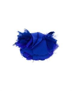 брошь в виде цветка с бахромой Lanvin