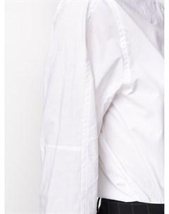 Блузка с завязками на воротнике Maison flaneur