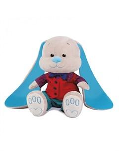 Мягкая игрушка Зайчик в красной жилетке 25 см Jack&lin