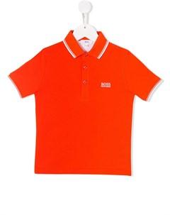 рубашка поло с логотипом Boss kids