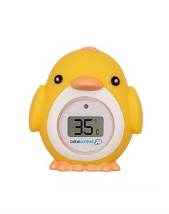 Электронный термометр для ванны Цыпленок желтый Bebe confort